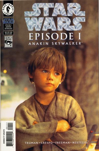 Star Wars: Episode I: Anakin Skywalker (Photo Comic Foil Cover)