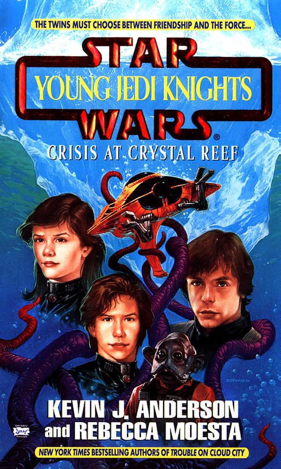 Star Wars Young Jedi Knights: Crisis at Crystal Reef
