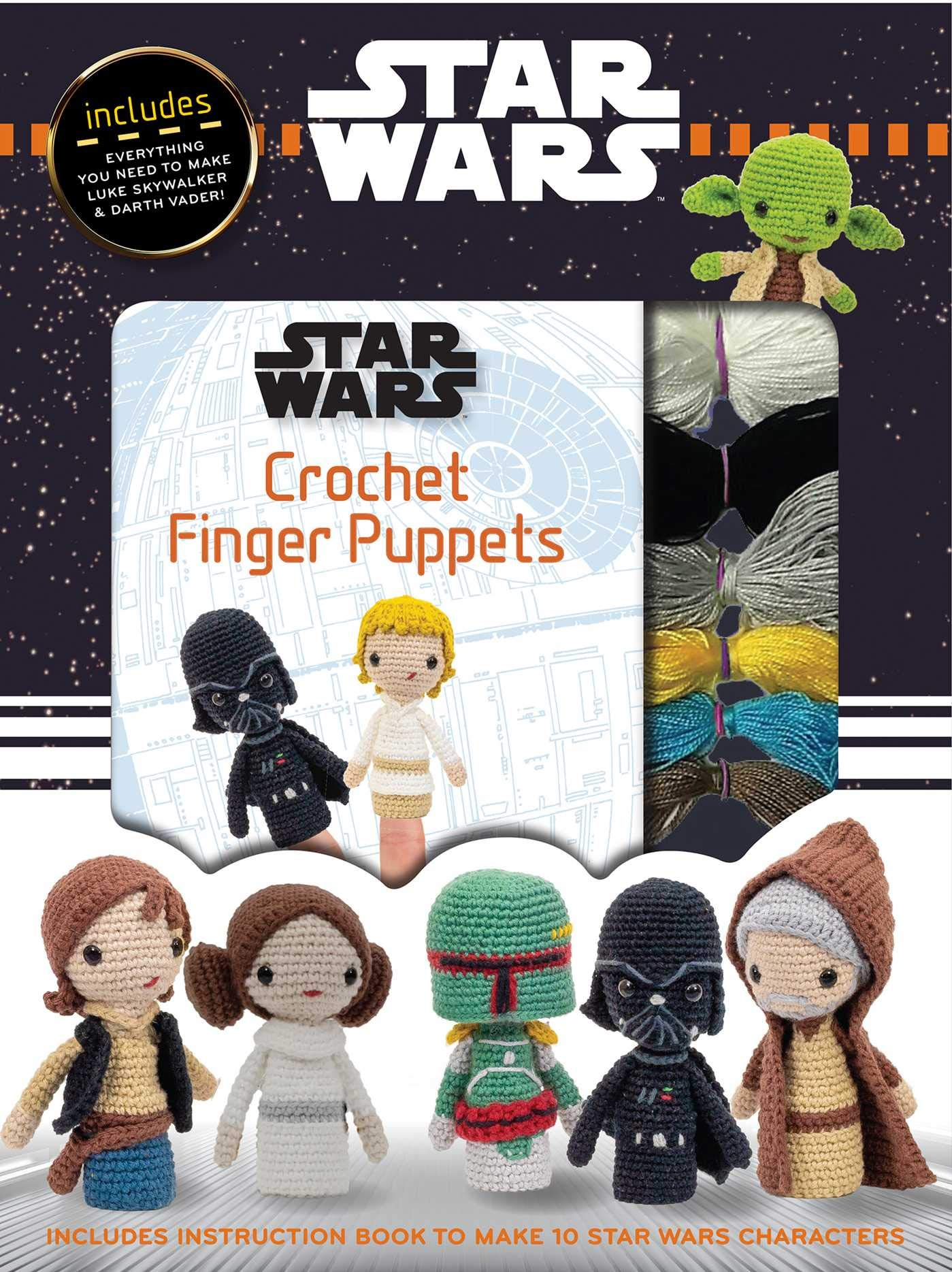 Star Wars: Crochet Finger Puppets