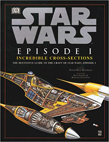 Star Wars Episode I: The Phantom Menace Incredible Cross Sections