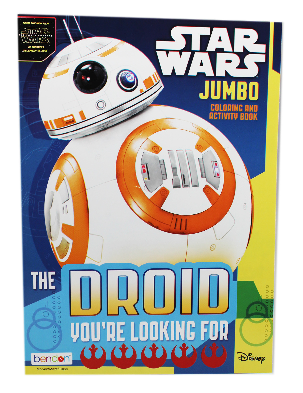 Star Wars Jumbo Coloring & Activity Book: The Droid You're Looking For