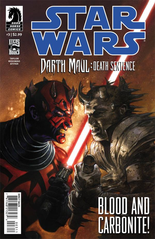 Star Wars Darth Maul: Death Sentence 3