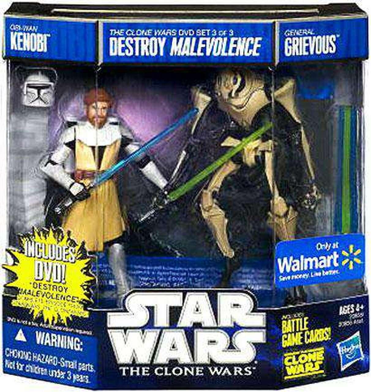 Star Wars The Clone Wars: Destroy Malevolence DVD