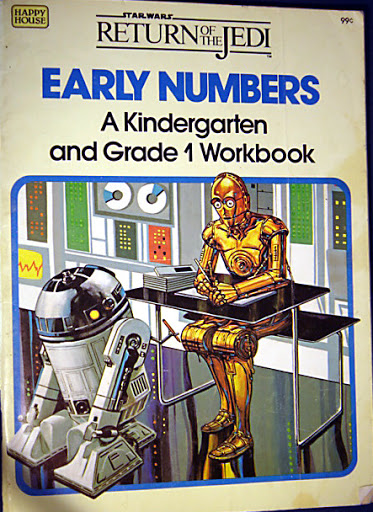 Star Wars Return of the Jedi: Early Numbers - A Kindergarten and Grade 1 Workbook