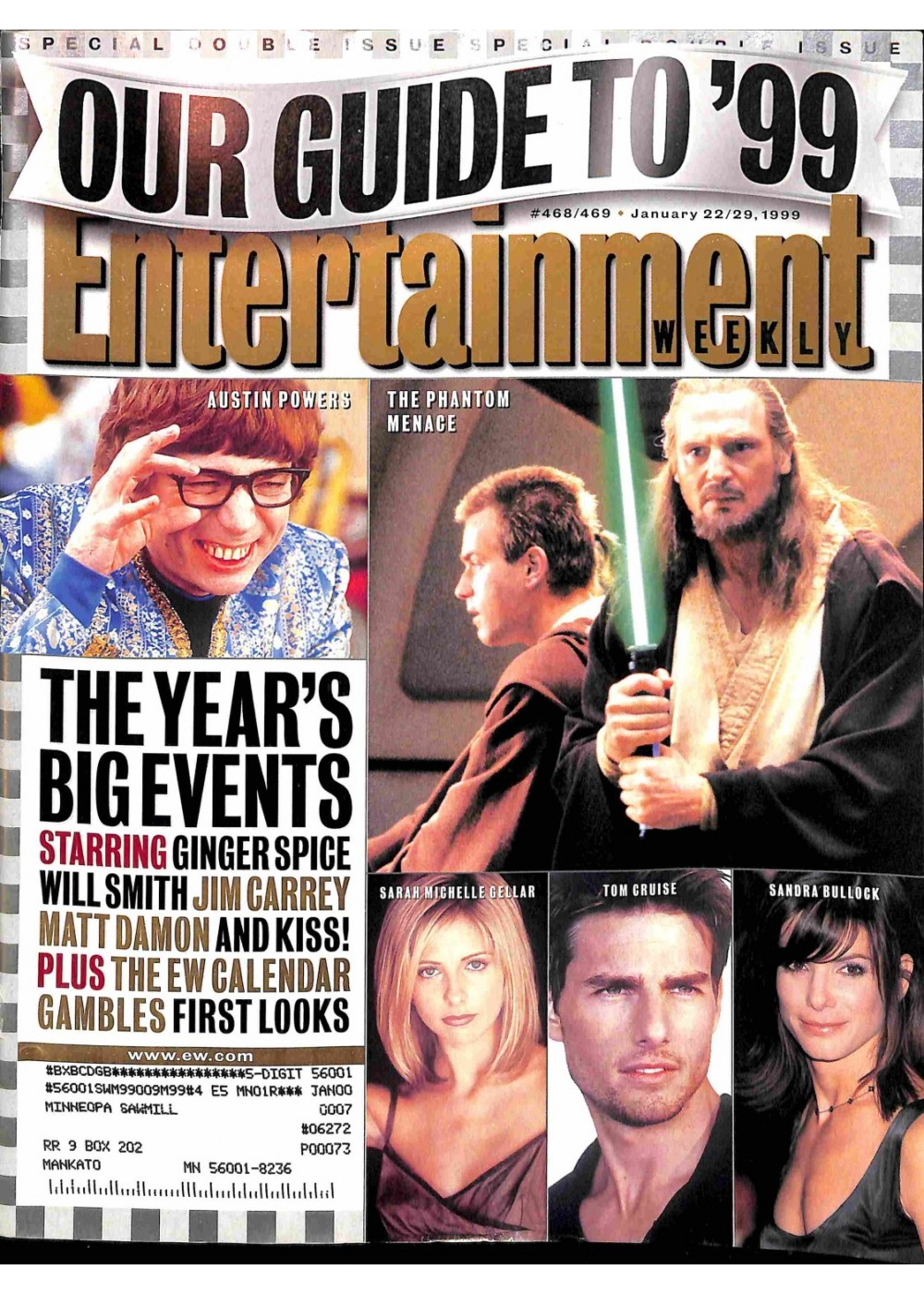 Entertainment Weekly January 22/29, 1999