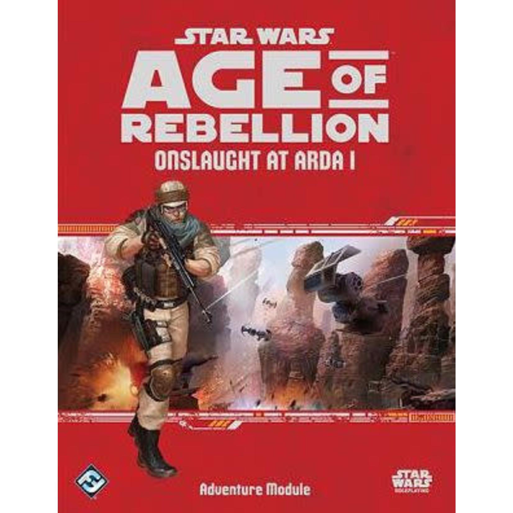 Star Wars Age of Rebellion: Onslaught at Arda I