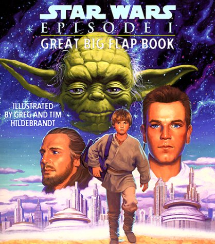 Star Wars Episode I Great Big Flap Book
