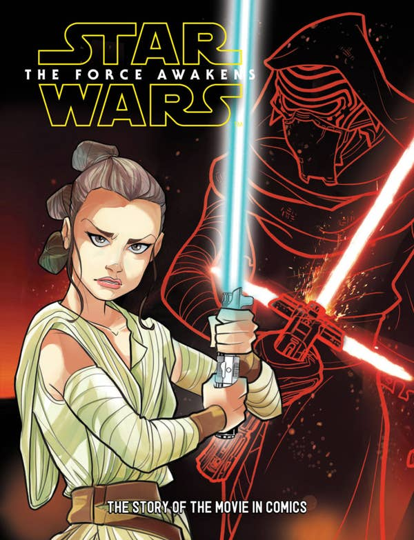 Star Wars: The Force Awakens - The Story of the Movie in Comics