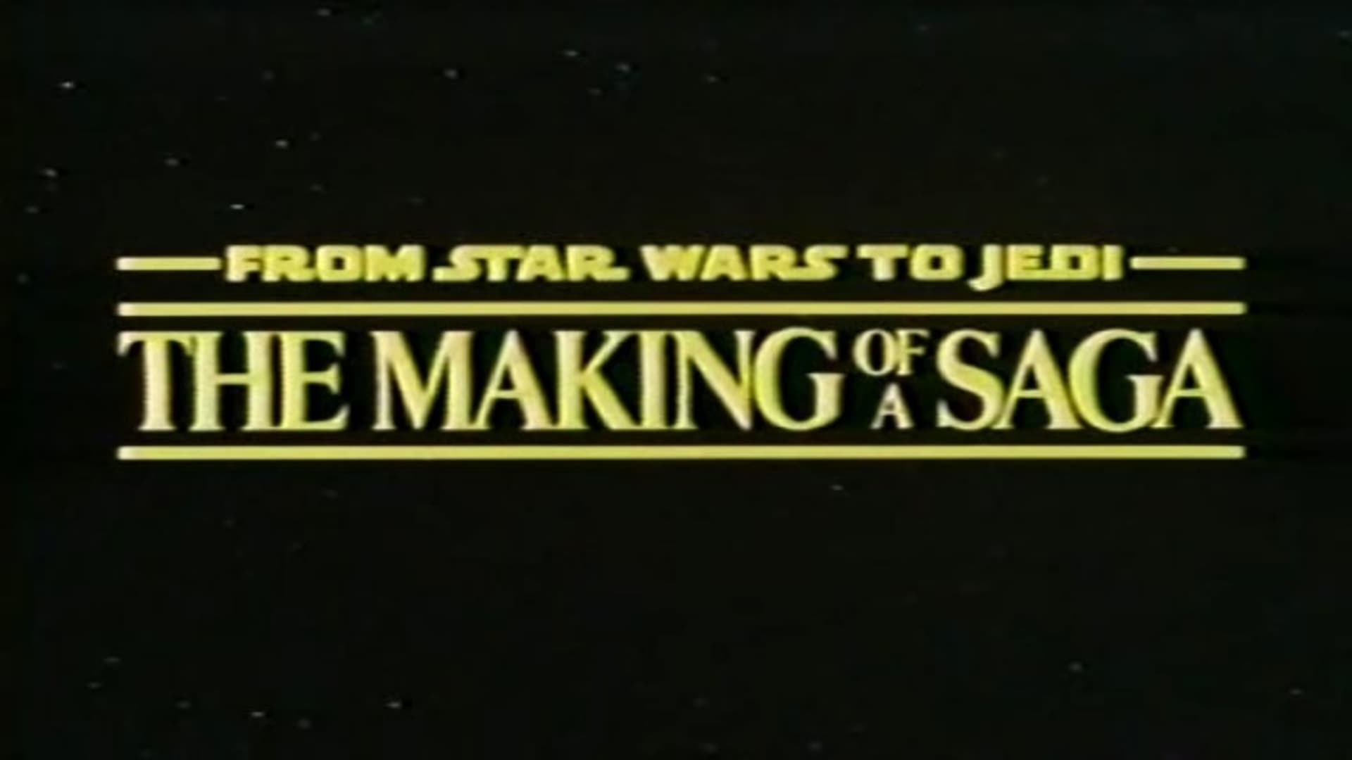 From Star Wars to Jedi