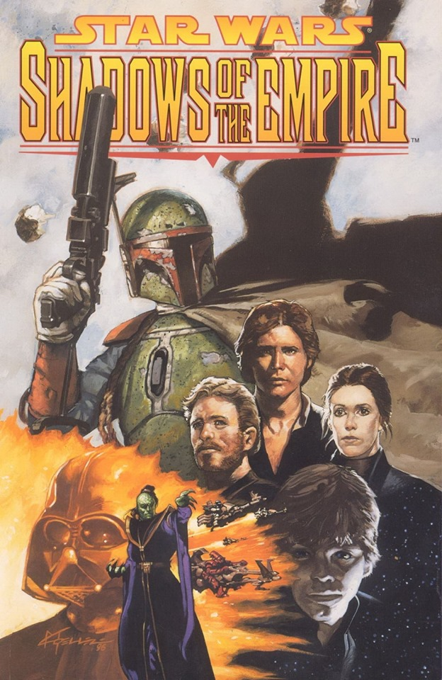 Star Wars: Shadows of the Empire (comic hardcover)