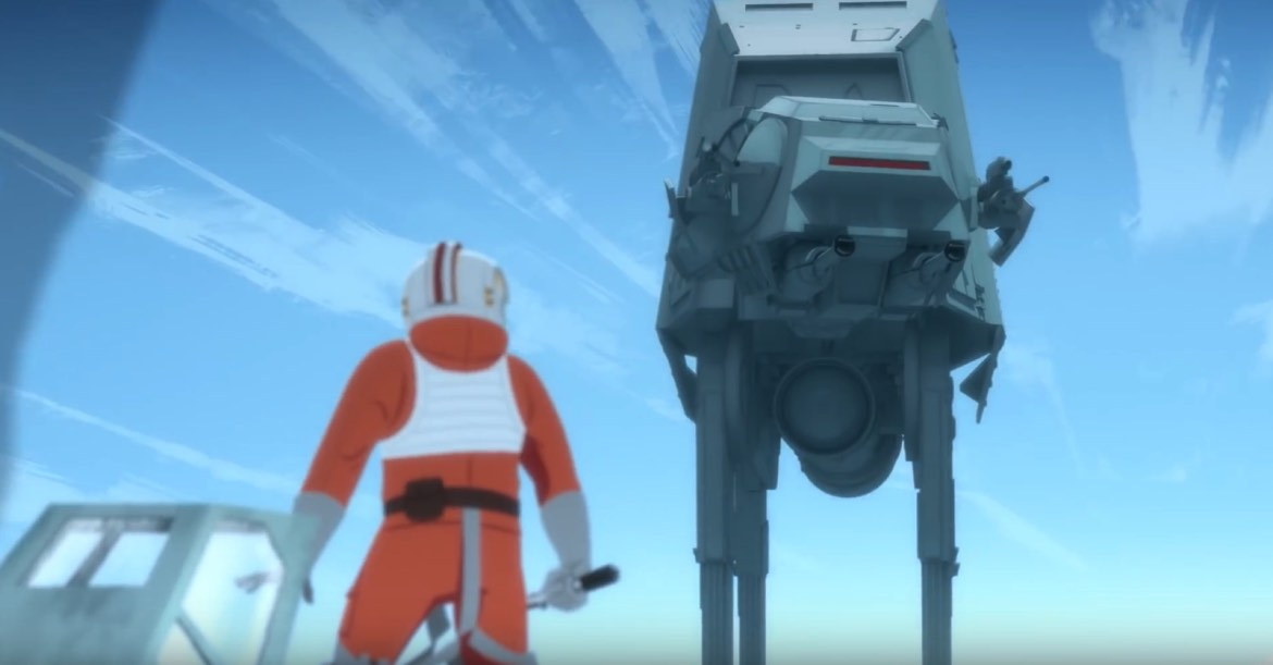 Star Wars Galaxy of Adventures: Battle on Hoth