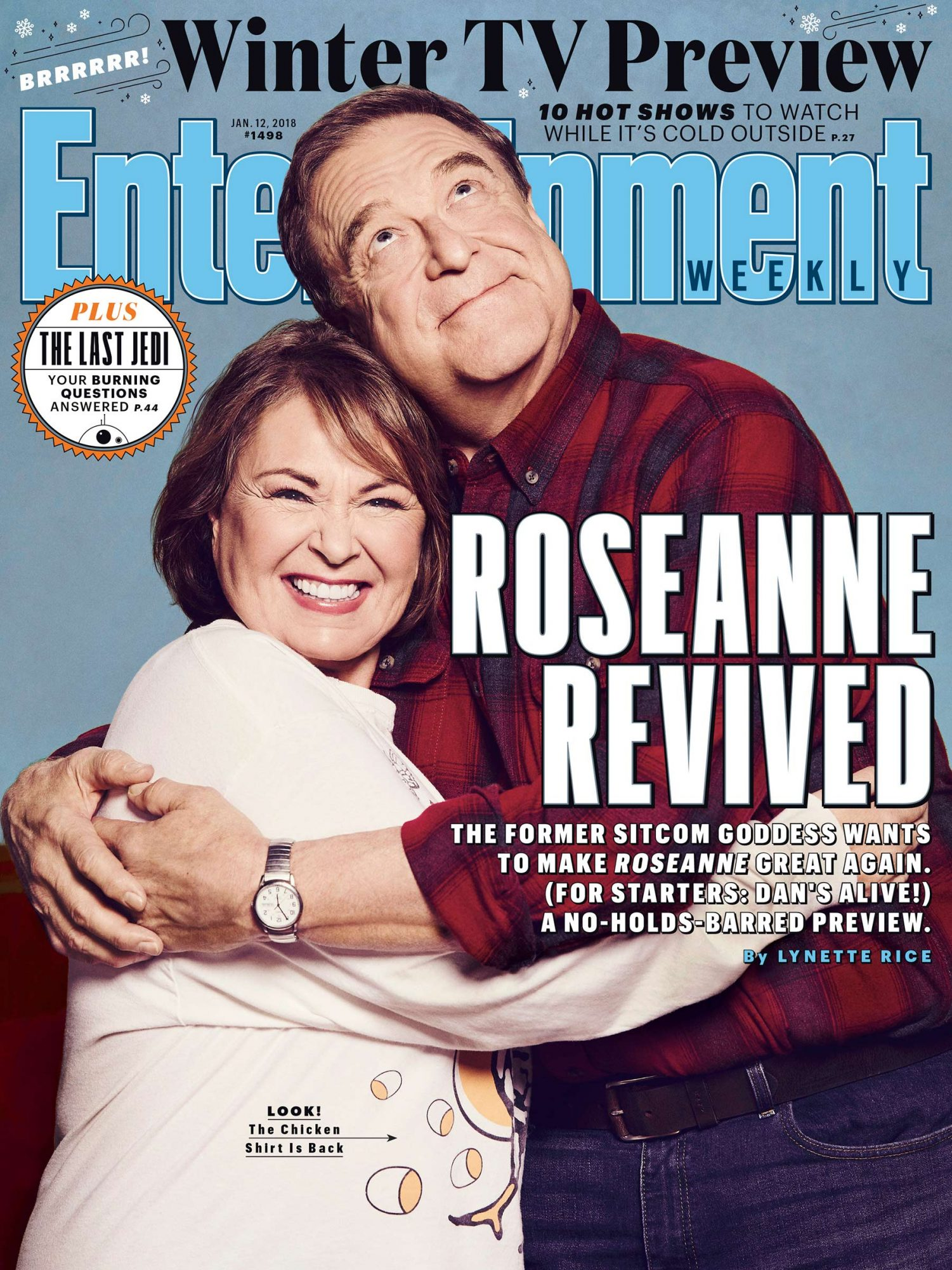 Entertainment Weekly January 12, 2018