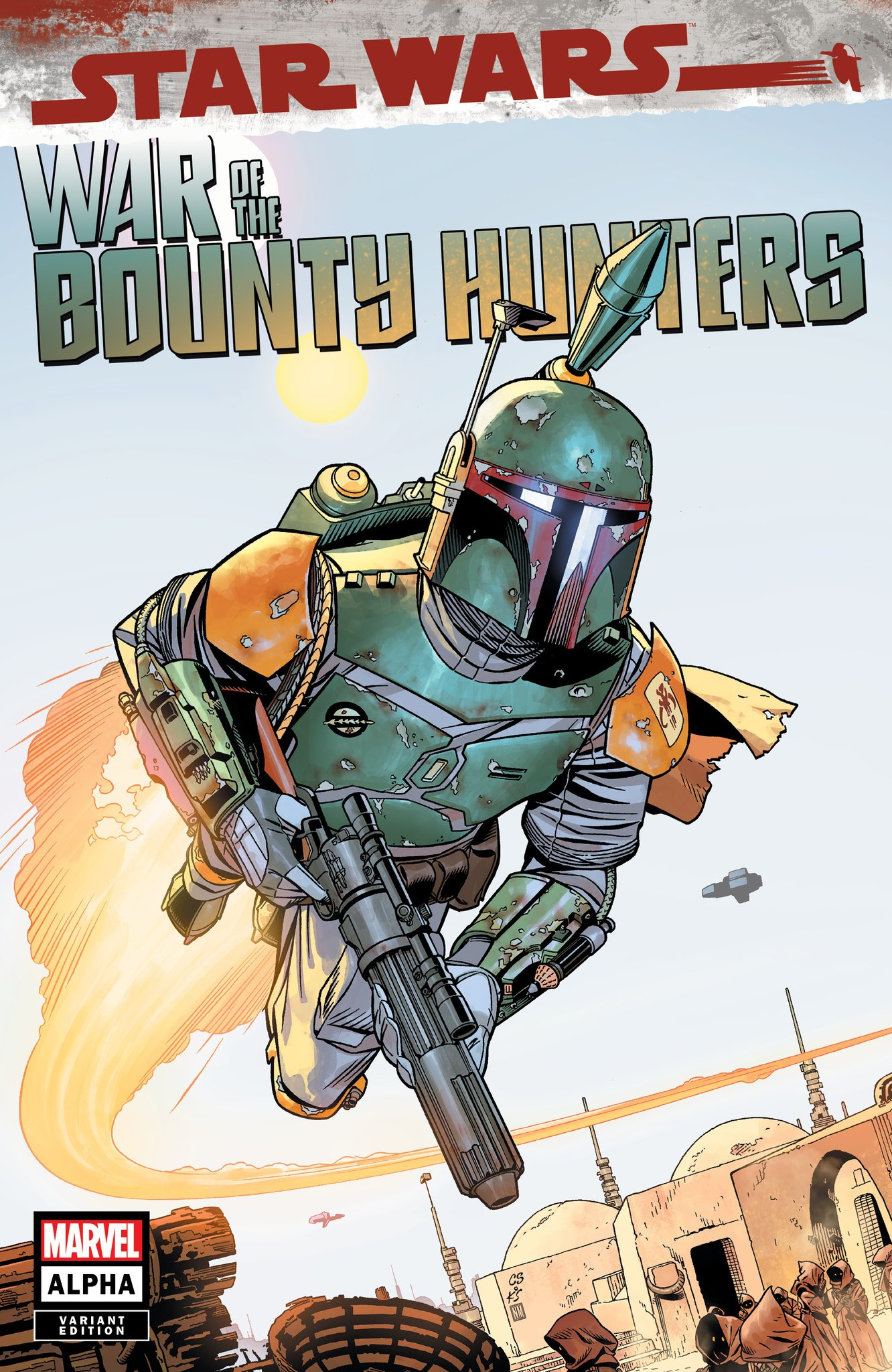 Star Wars: War of the Bounty Hunters Alpha - Big Time Variant