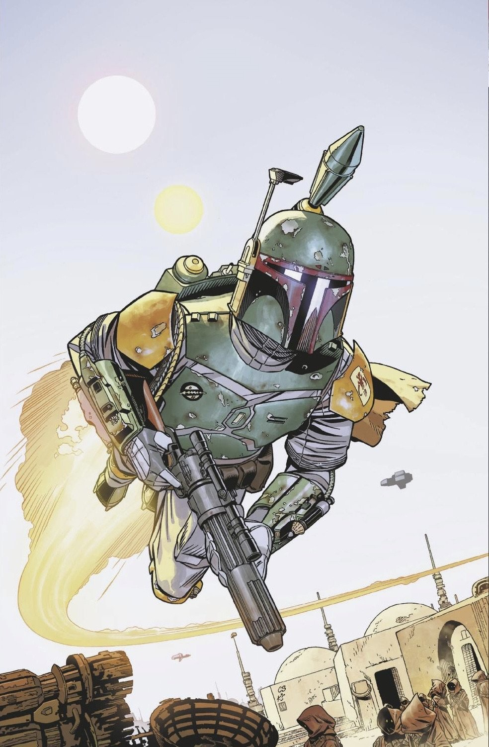 Star Wars: War of the Bounty Hunters Alpha - Big Time Virgin Variant