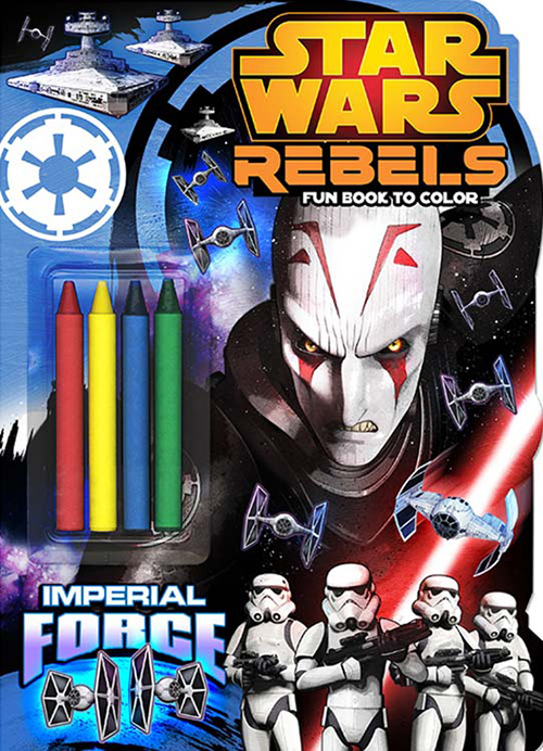 Star Wars Rebels: Imperial Force Fun Book to Color