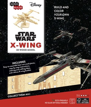 Star Wars: Build and Color Your Own X-Wing