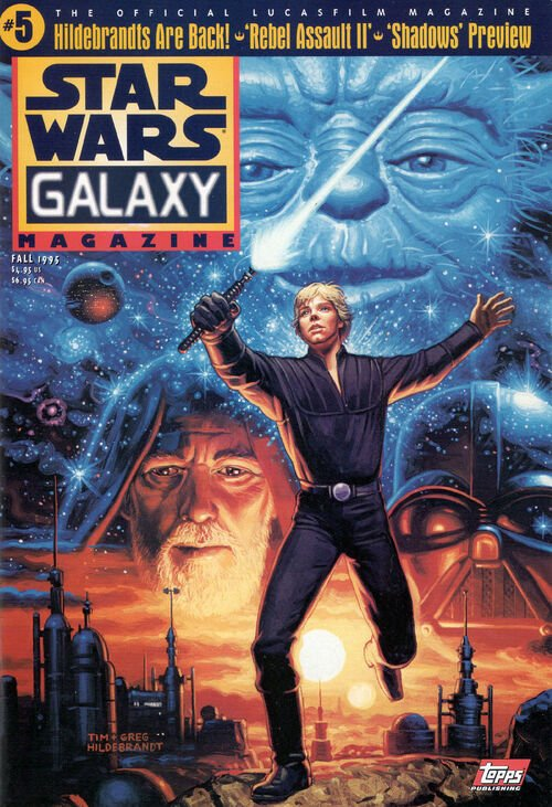 Star Wars Galaxy Magazine 5