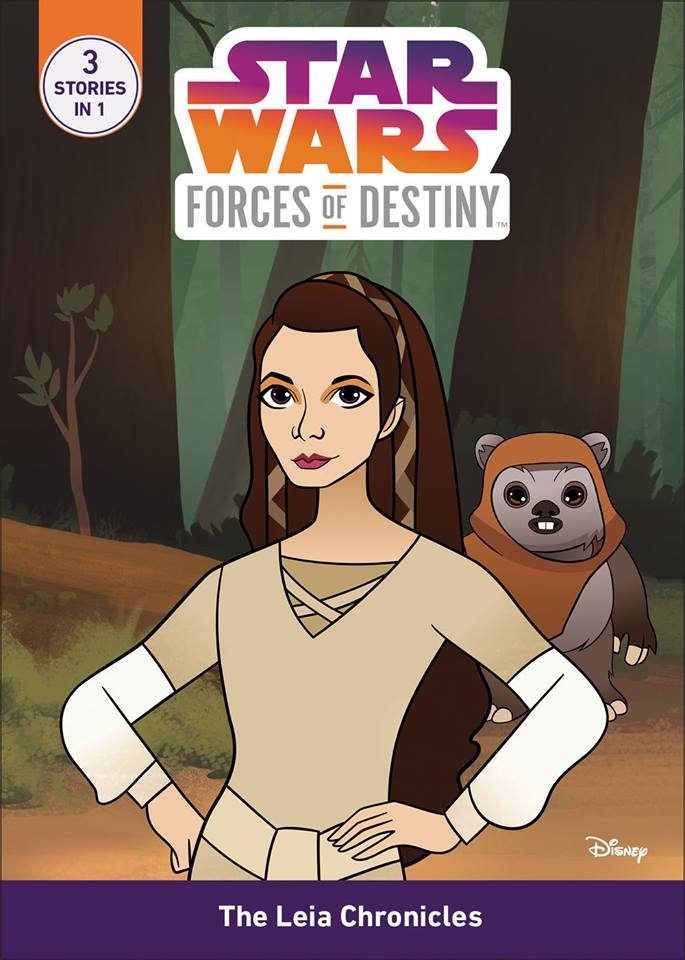 Star Wars Forces of Destiny: Leia - Ewok Escape