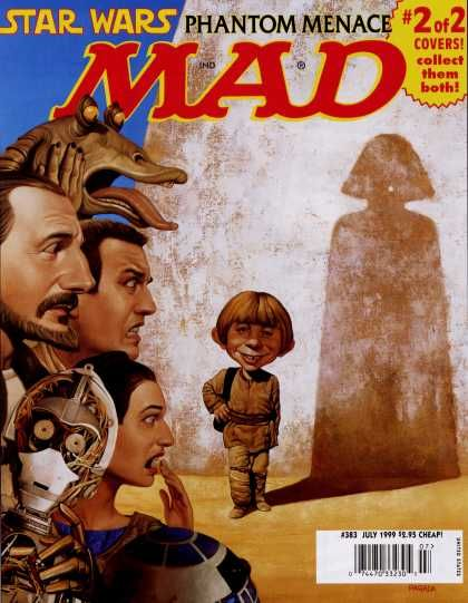 Mad Magazine 383 Cover 2 of 2