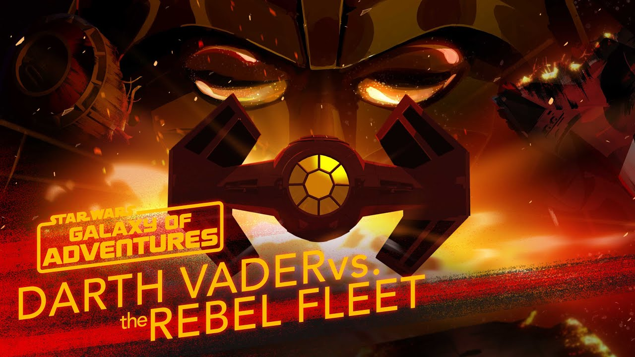 Star Wars Galaxy of Adventures: Darth Vader vs. The Rebel Fleet - Fearsome Fighter Pilot