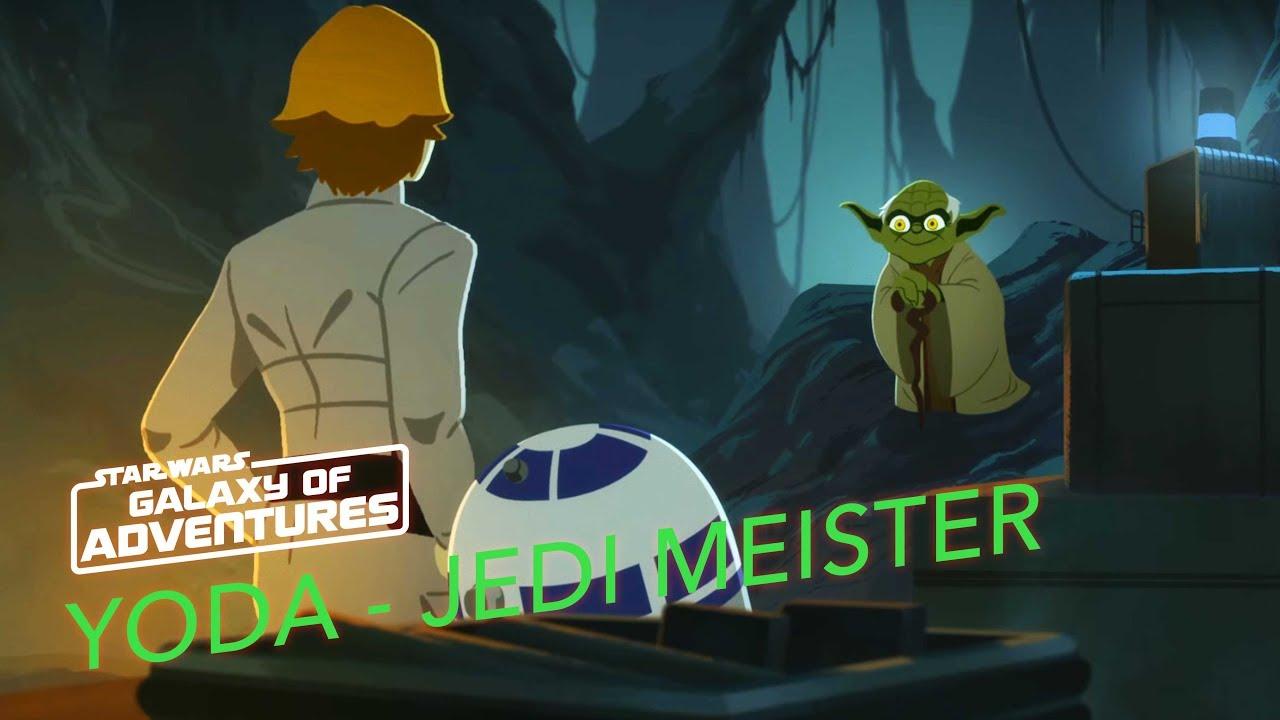 Star Wars Galaxy of Adventures: Yoda - The Jedi Master