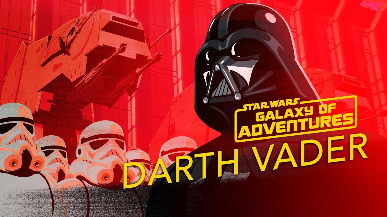 Star Wars Galaxy of Adventures: Darth Vader - The Might of the Empire