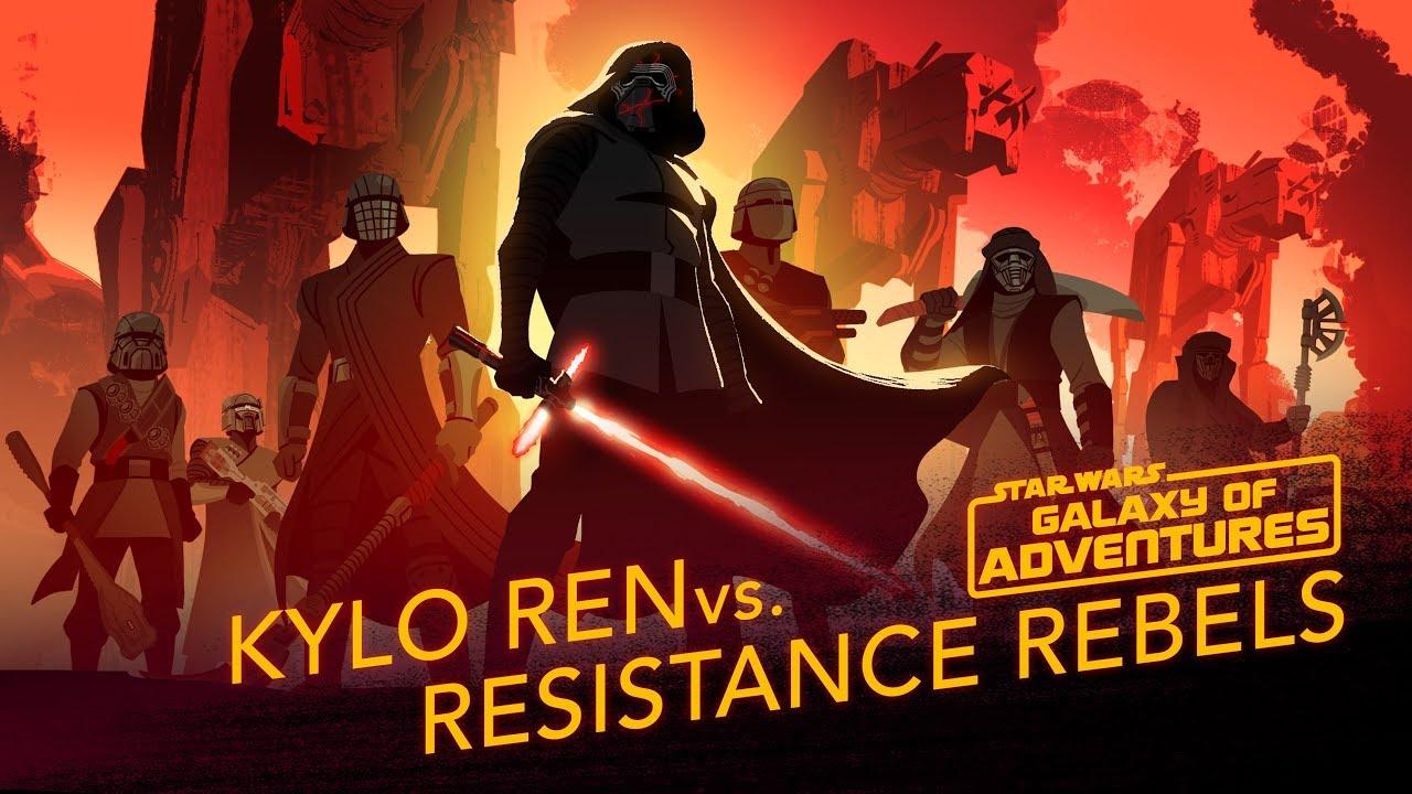 Star Wars Galaxy of Adventures: Kylo Ren vs. Resistance Rebels