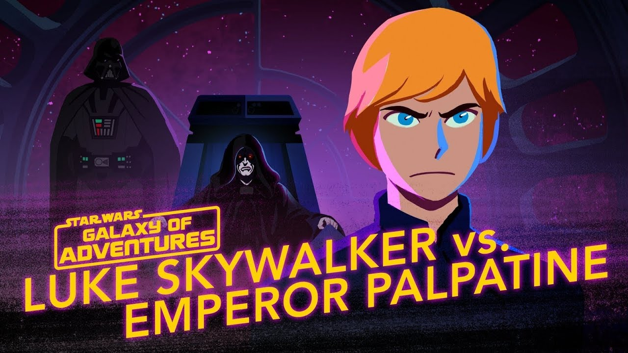 Star Wars Galaxy of Adventures: Luke vs Emperor Palpatine - Rise to Evil