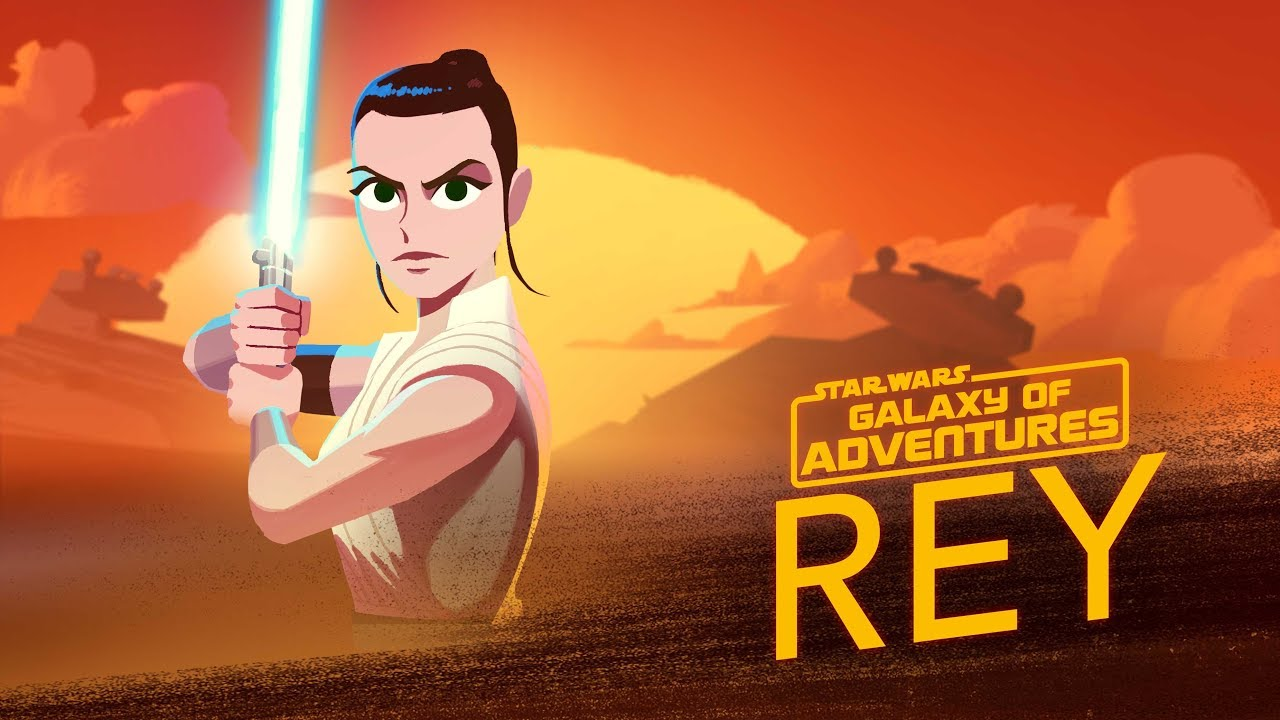 Star Wars Galaxy of Adventures: The Force Calls to Rey