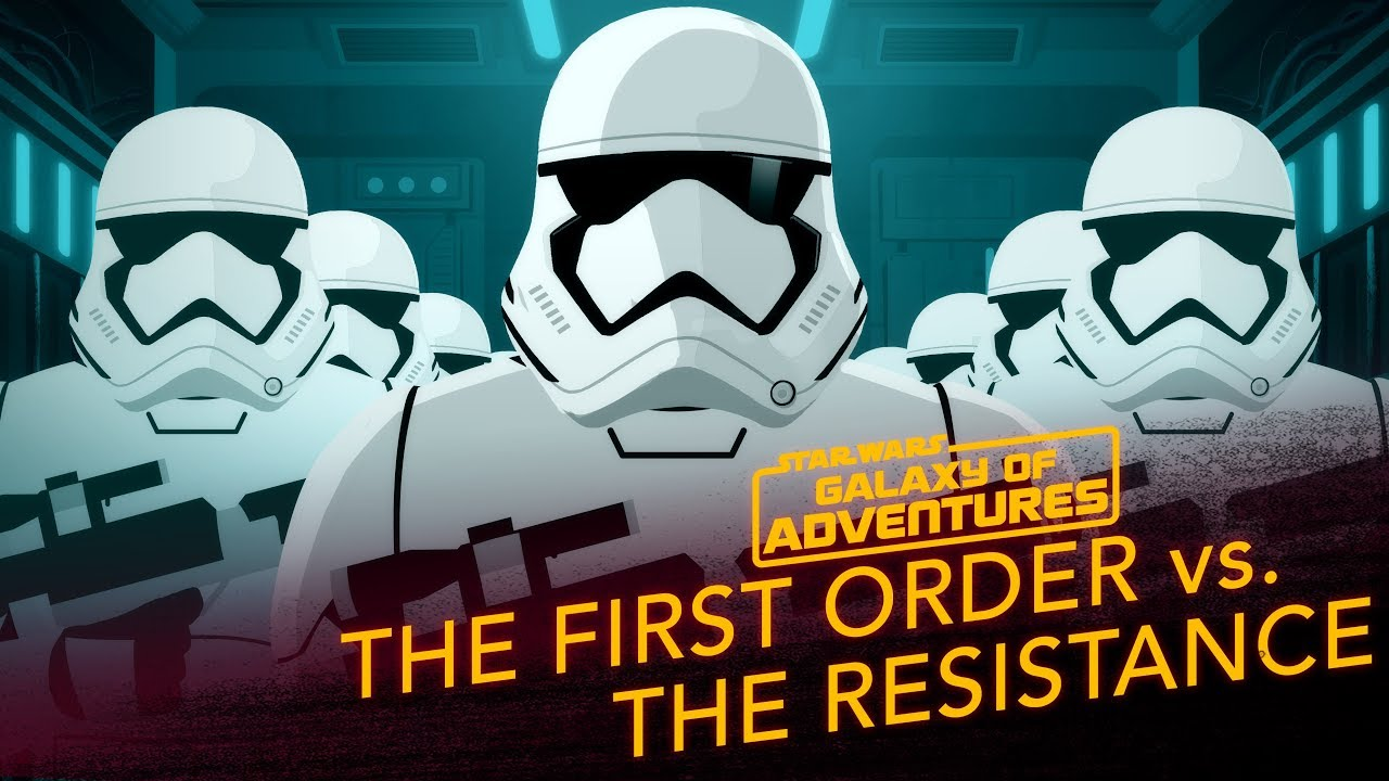 Star Wars Galaxy of Adventures: The First Order vs. The Resistance