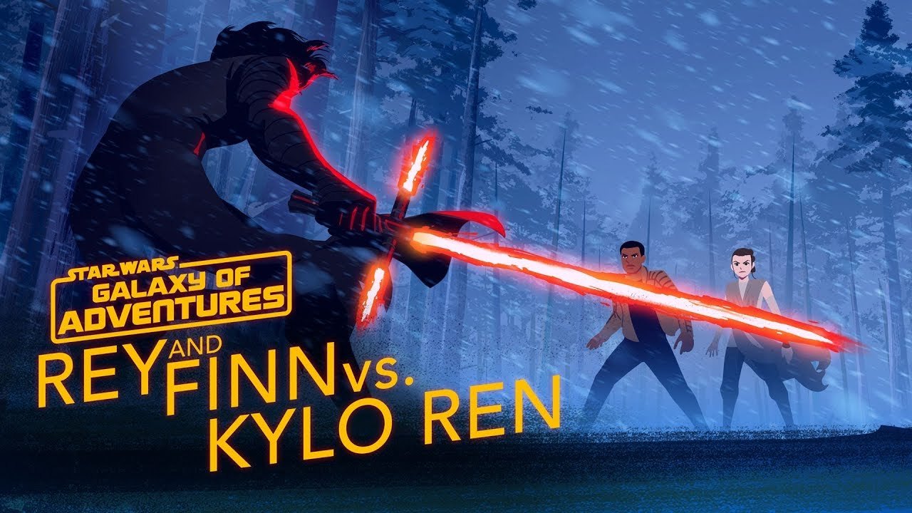 Star Wars Galaxy of Adventures: Rey and Finn vs. Kylo Ren