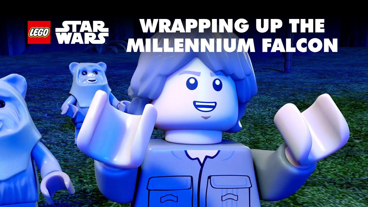Lego Star Wars: Wrapping the Falcon