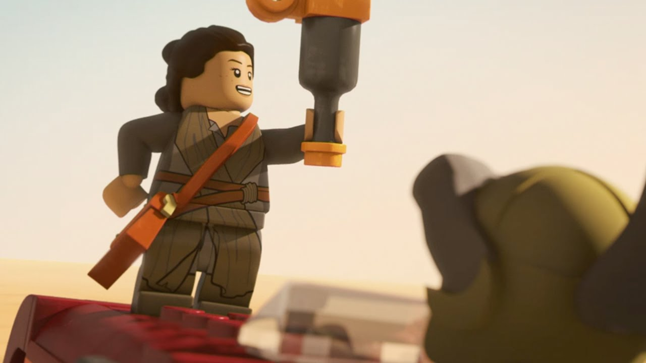 Lego Star Wars The Resistance Rises: Rey Strikes Back