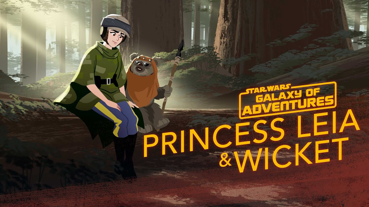 Star Wars Galaxy of Adventures: Princess Leia - An Unexpected Friend