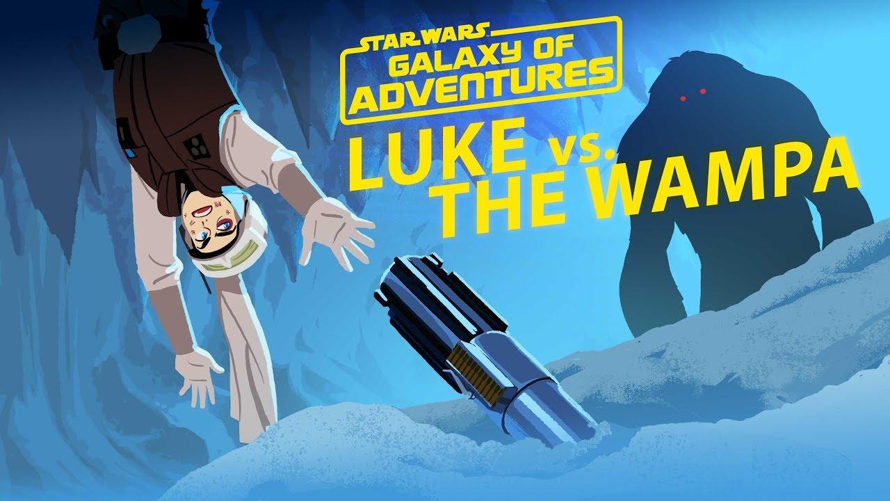 Star Wars Galaxy of Adventures: Luke vs. The Wampa - Cavern Escape