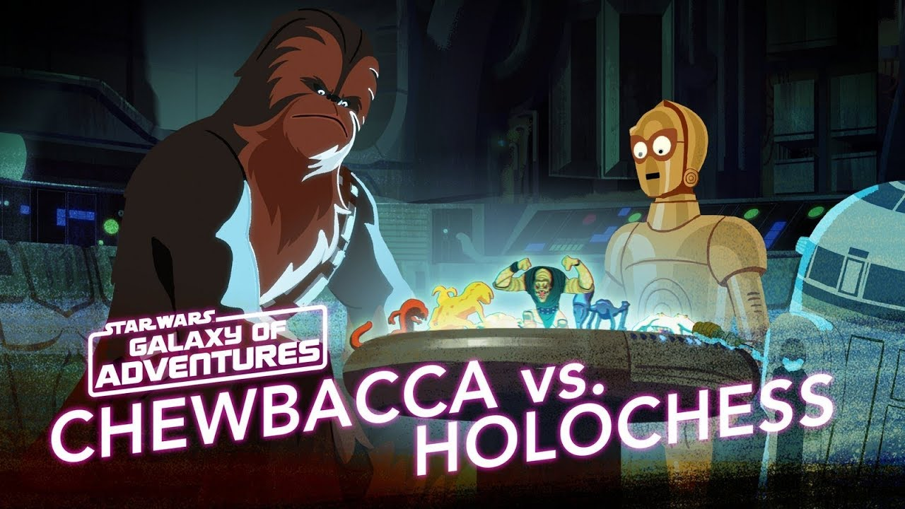 Star Wars Galaxy of Adventures: Chewie vs. Holochess - Let the Wookiee Win