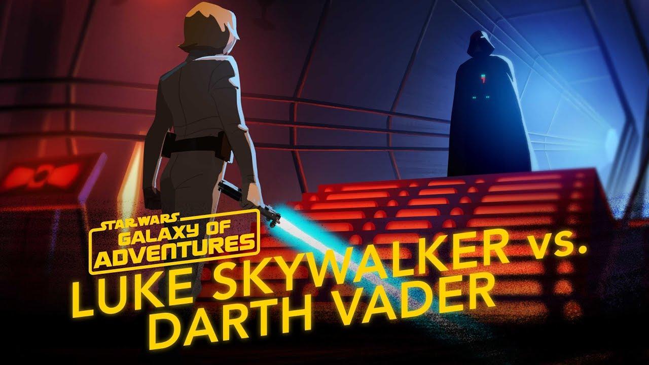 Star Wars Galaxy of Adventures: Luke Skywalker vs. Darth Vader - Join Me