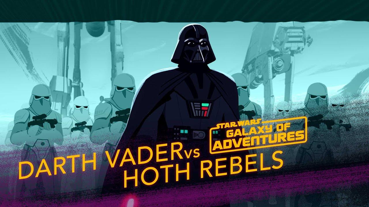 Star Wars Galaxy of Adventures: Darth Vader vs. Hoth Rebels