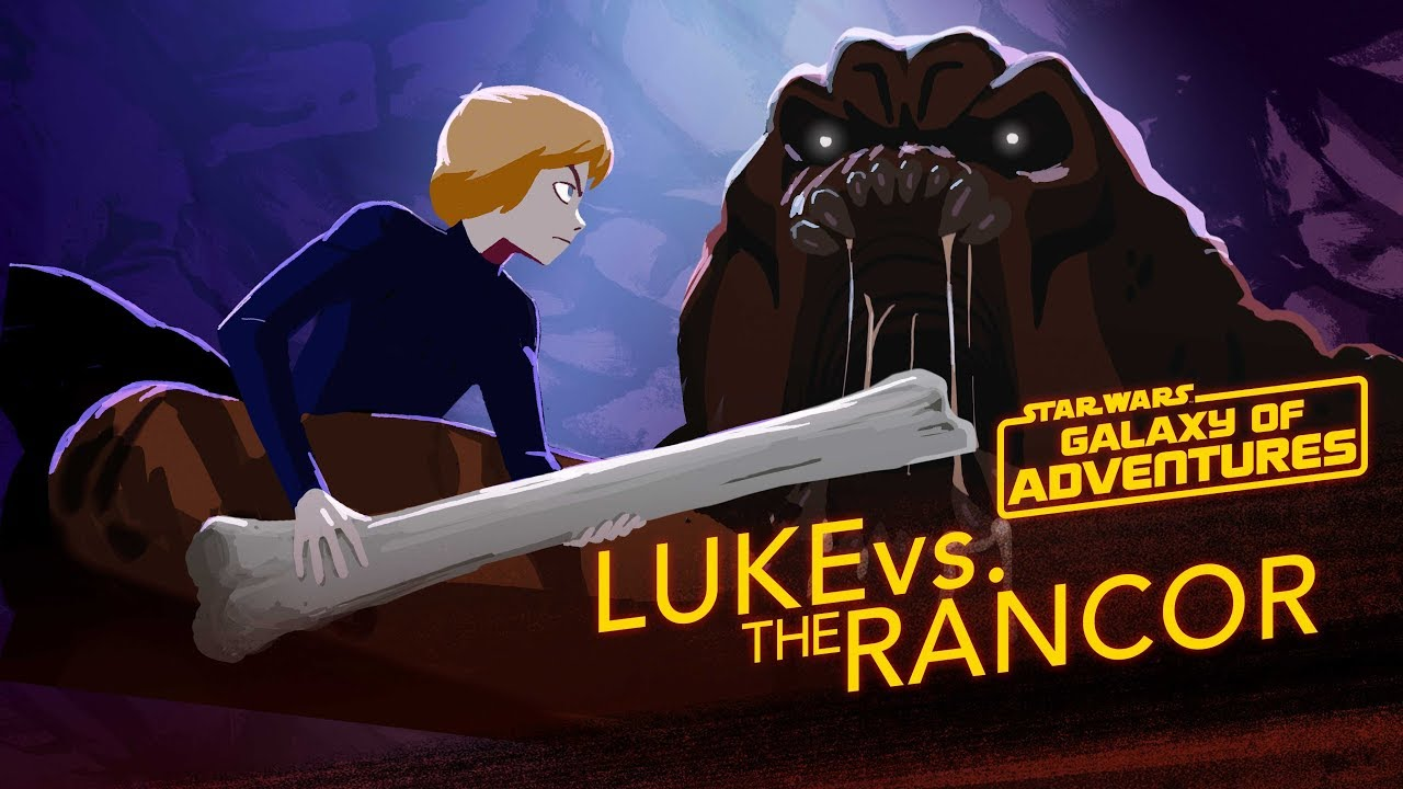 Star Wars Galaxy of Adventures: Luke vs. The Rancor - Wrath of the Rancor