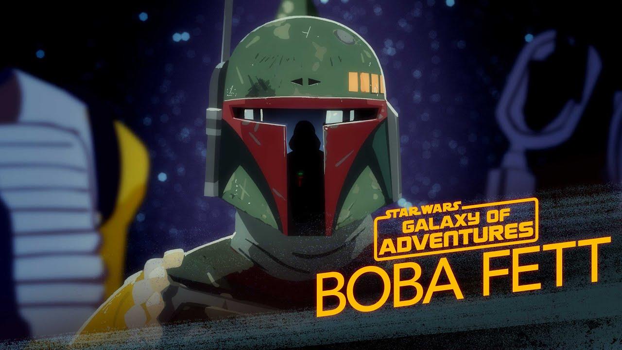 Star Wars Galaxy of Adventures: Boba Fett - The Bounty Hunter