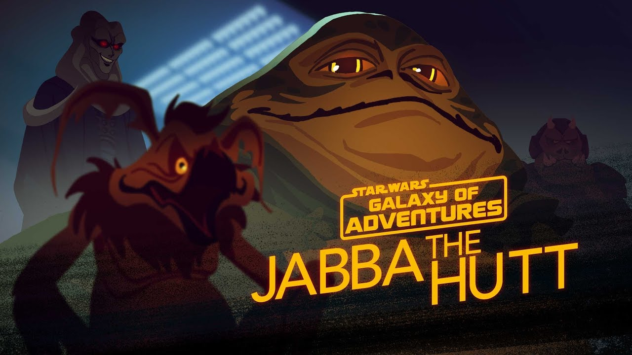 Star Wars Galaxy of Adventures: Jabba the Hutt - Galactic Gangster