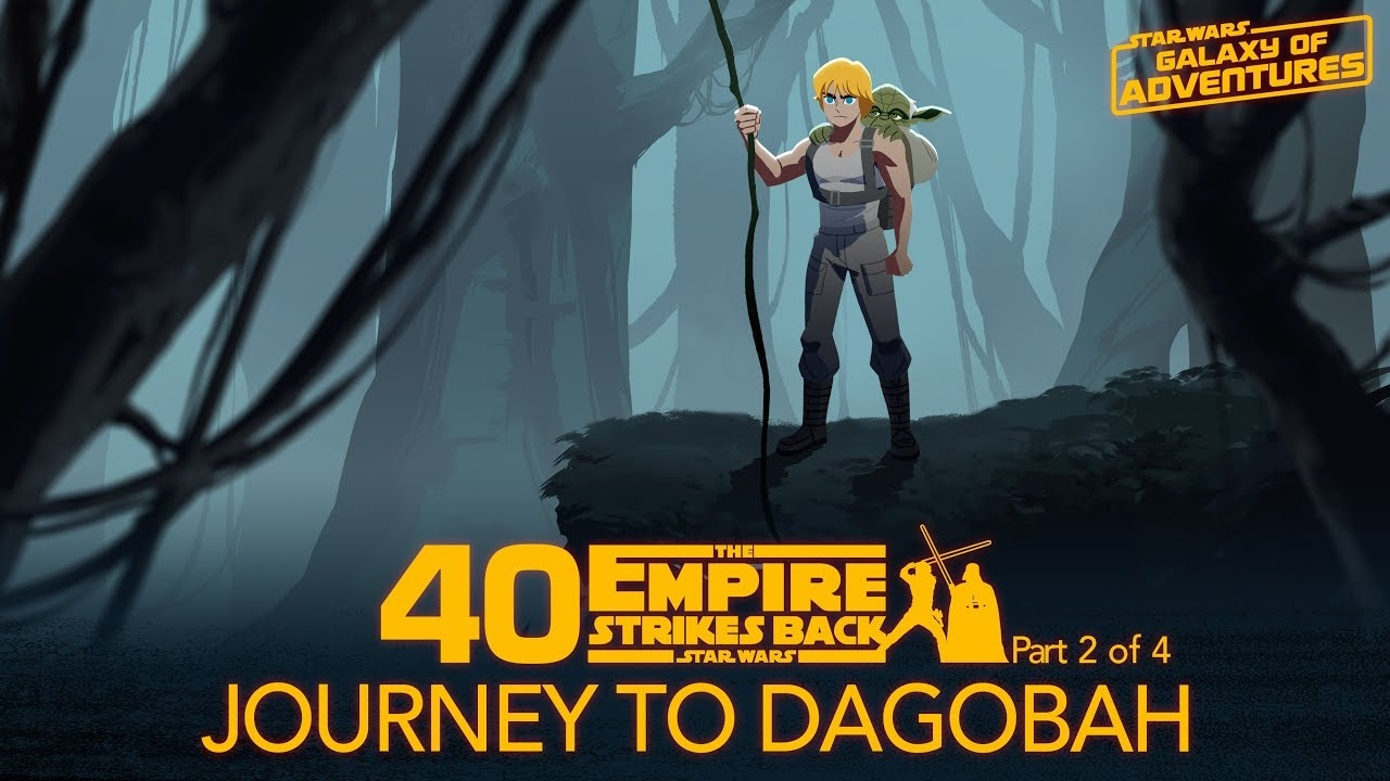 Star Wars Galaxy of Adventures: Journey to Dagobah