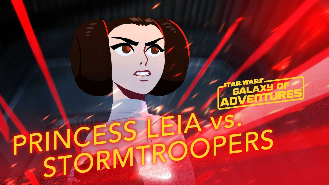Star Wars Galaxy of Adventures: Princess Leia - The Rescue
