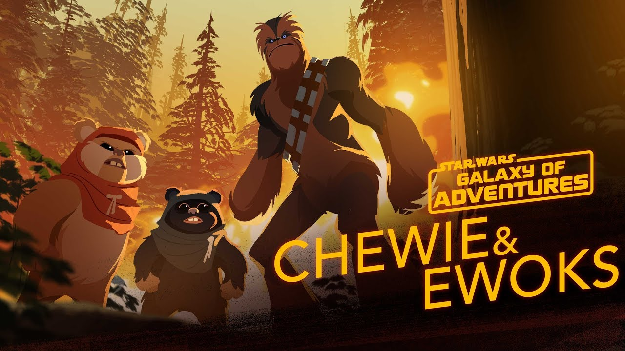 Star Wars Galaxy of Adventures: Chewie and Ewoks - Hijacking a Walker