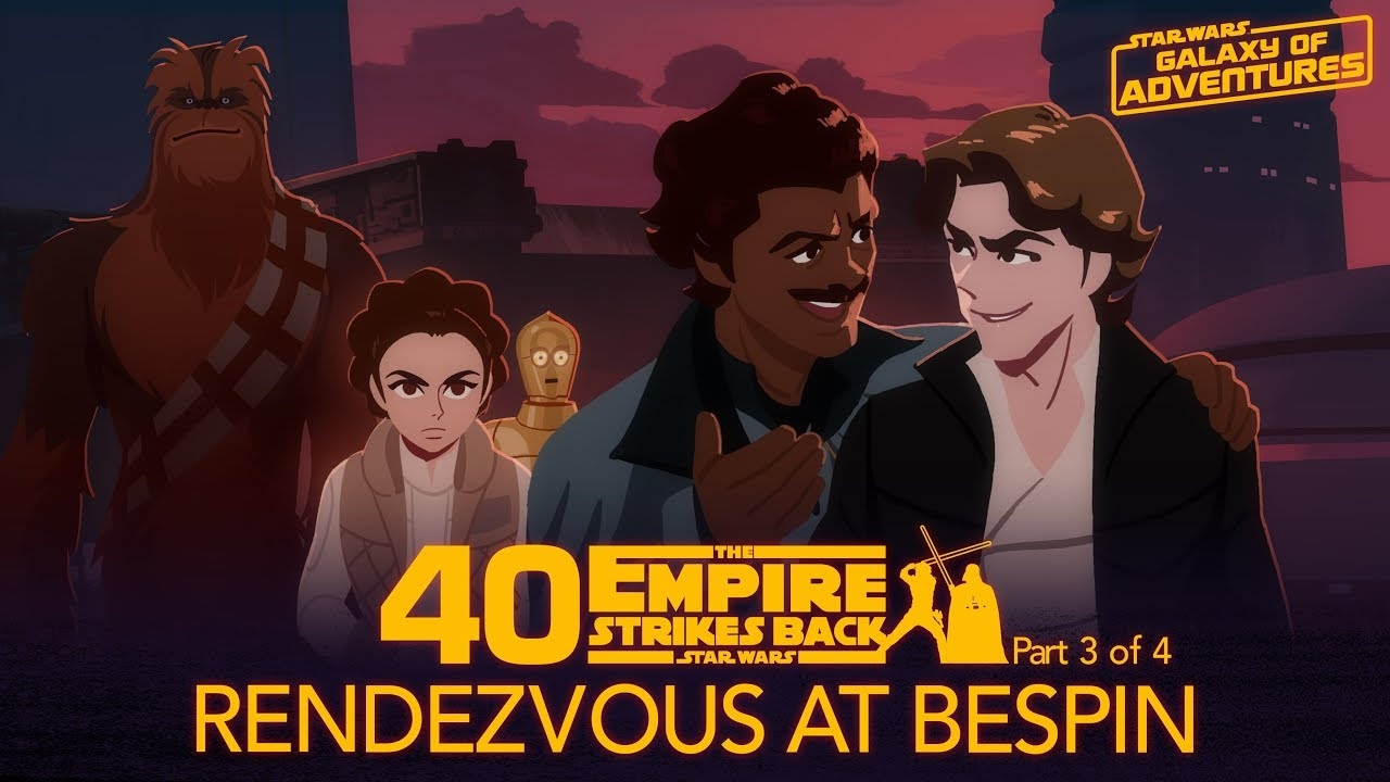 Star Wars Galaxy of Adventures: Rendezvous at Bespin
