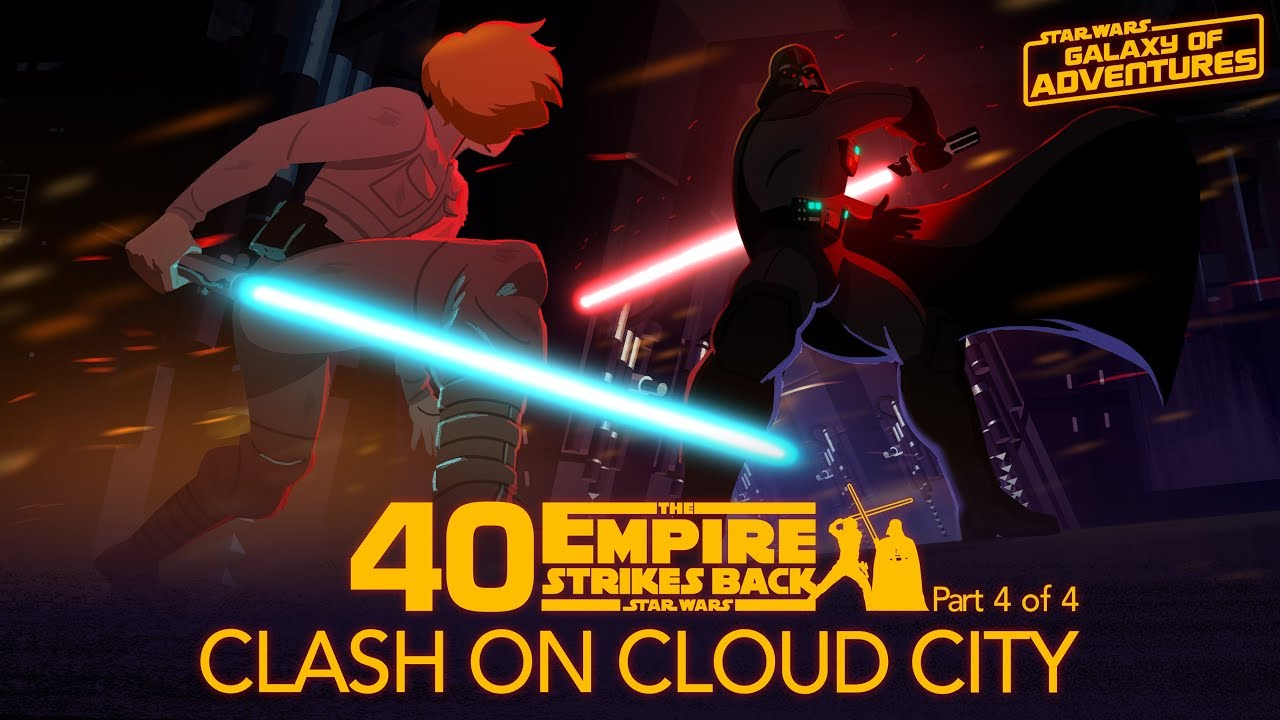 Star Wars Galaxy of Adventures: Clash on Cloud City