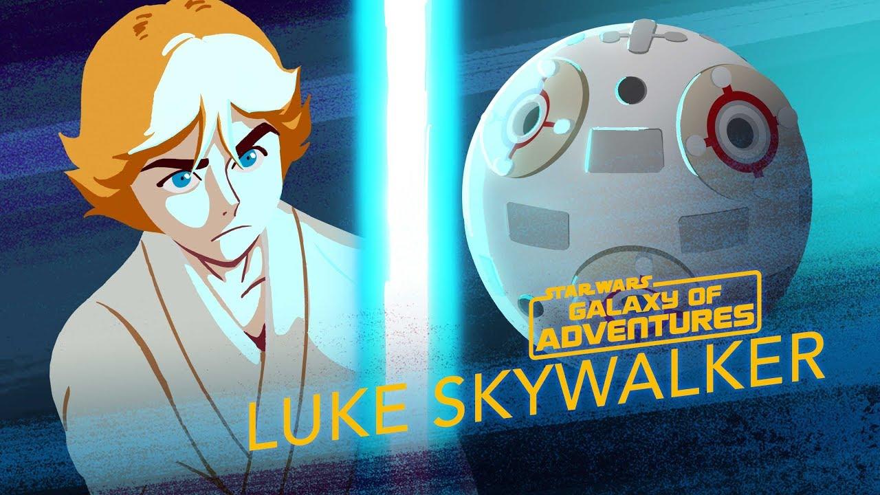 Star Wars Galaxy of Adventures: Luke Skywalker - Lightsaber Training