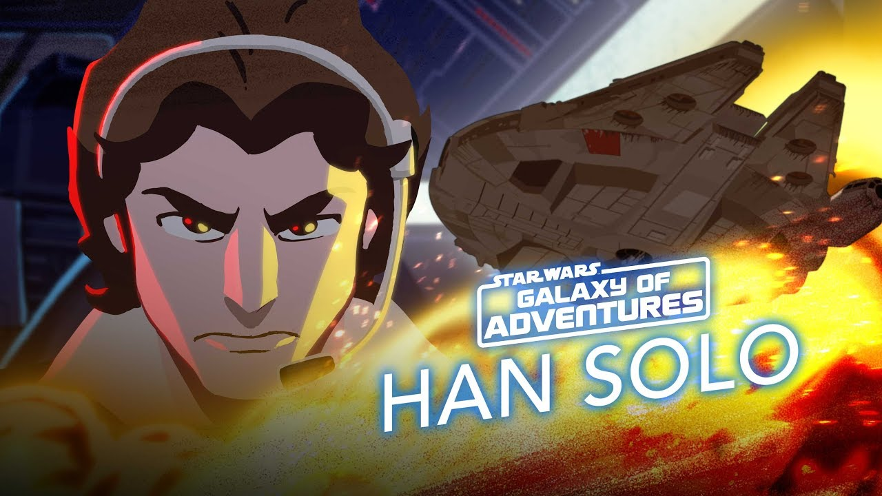 Star Wars Galaxy of Adventures: Han Solo - Taking Flight For His Friends