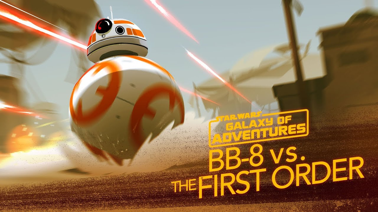 Star Wars Galaxy of Adventures: BB-8 - A Hero Rolls Out