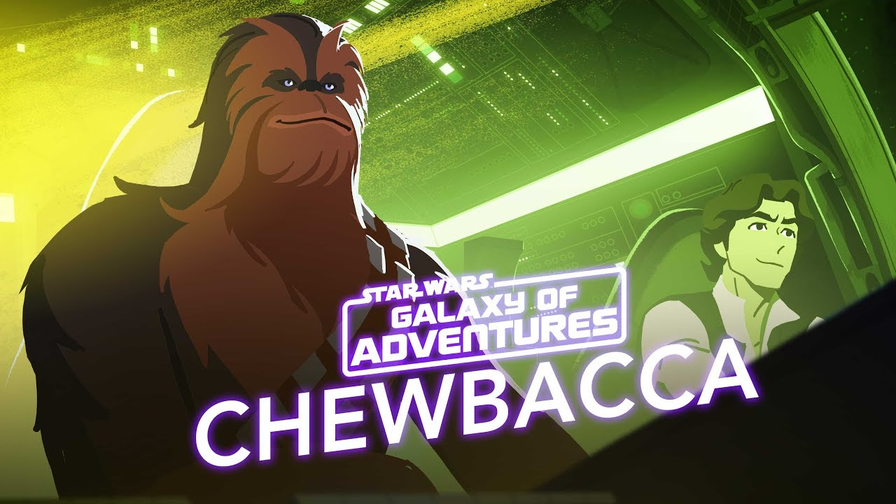 Star Wars Galaxy of Adventures: Chewbacca - The Trusty Co-Pilot